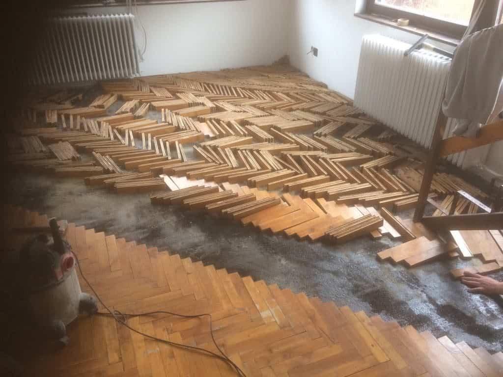 felpúposodott parketta javítása Budapest